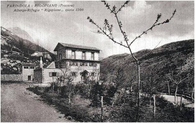 Immagine storica hotel Rigopiano