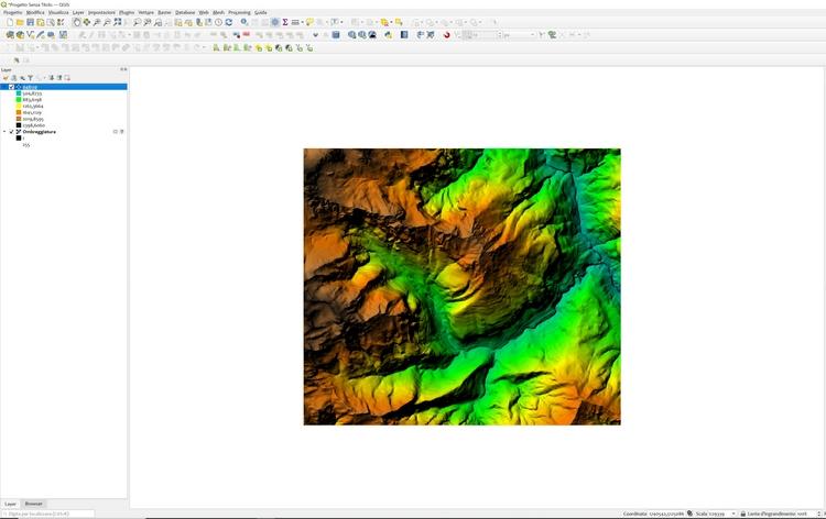Il Geographic Information System (GIS) nella gestione dei geodati