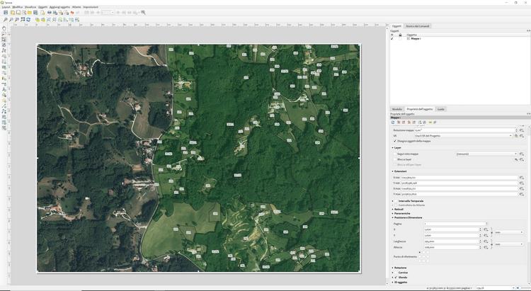 Qgis software cartografia vestizione