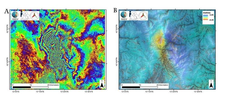 SAR studio movimenti della superficie terrestre - INGV