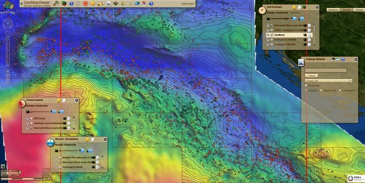 Dalla rete SINAnet, risorse cartografiche e database ambientali a disposizione dei professionisti