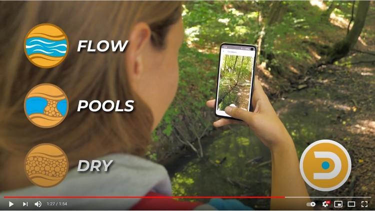 DRYvER  - app opensource per il monitoraggio del prosciugamento dei fiumi