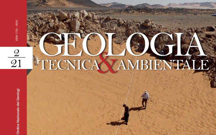 GEOLOGIA TECNICA & AMBIENTALE - n. 2/2021