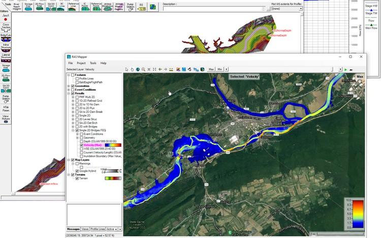 HEC-RAS 6.1, nuova versione del software di modellazione idraulica