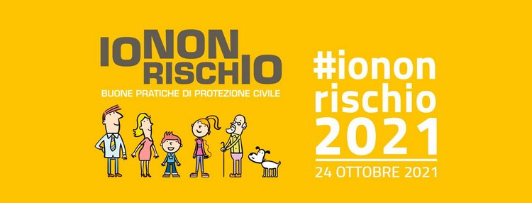 Io non rischio 2021: campagna nazionale per le buone pratiche di protezione civile