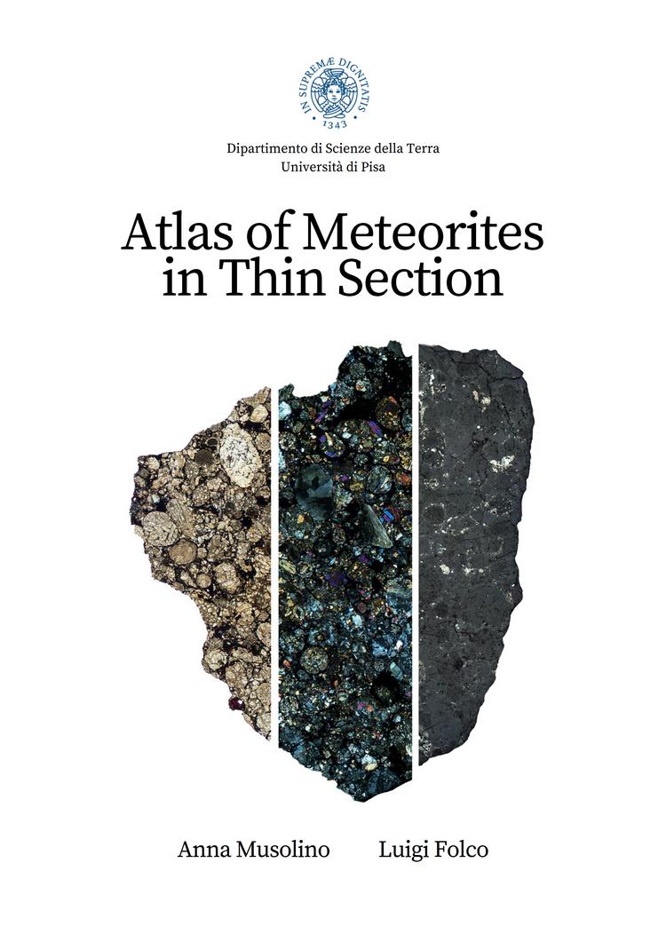 Atlas of Meteorites in Thin Section; pubblicato on-line il nuovo atlante delle meteoriti - Dipartimento di Scienze della Terra of the Università di Pisa