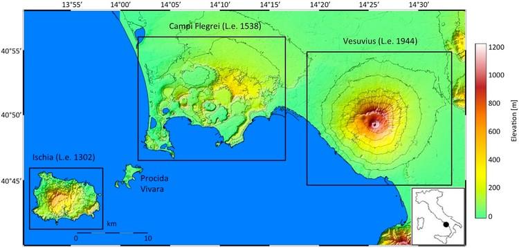 Open access   Campi Flegrei, Vesuvius and Ischia Seismicity in the Context of the Neapolitan Volcanic Area