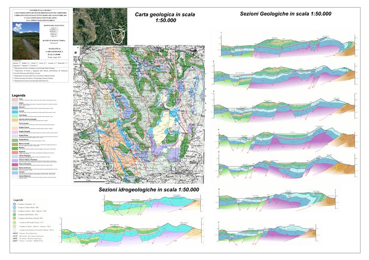 Caratterizzazione dei sistemi idrogeologici del territorio umbro influenzato dagli eventi sismici del 26-30 ottobre 2016 e valutazione degli effetti del sisma sull'approvvigionamento idrico