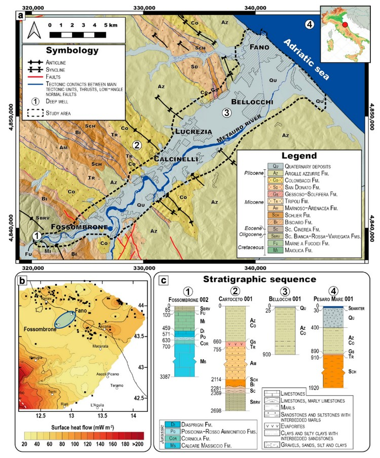 Open Access Article | Defining the Shallow Geothermal Heat-Exchange Potential for a Lower Fluvial Plain of the Central Apennines: The Metauro Valley (Marche Region, Italy)