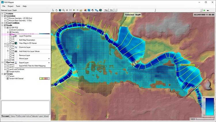 HEC-RAS 6.0.0 Beta 3, nuova versione del software di modellazione idraulica