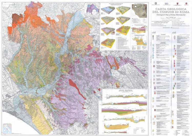 La geologia di Roma. Dal centro storico alla periferia - Disponibile on line