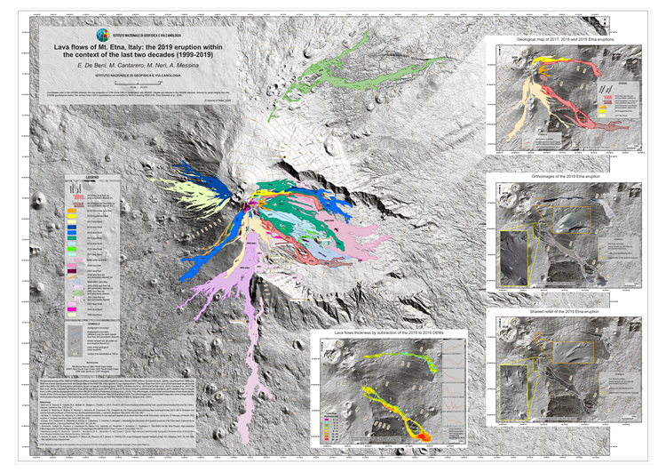 Research article | Lava flows of Mt Etna, Italy: the 2019 eruption within the context of the last two decades (1999–2019)