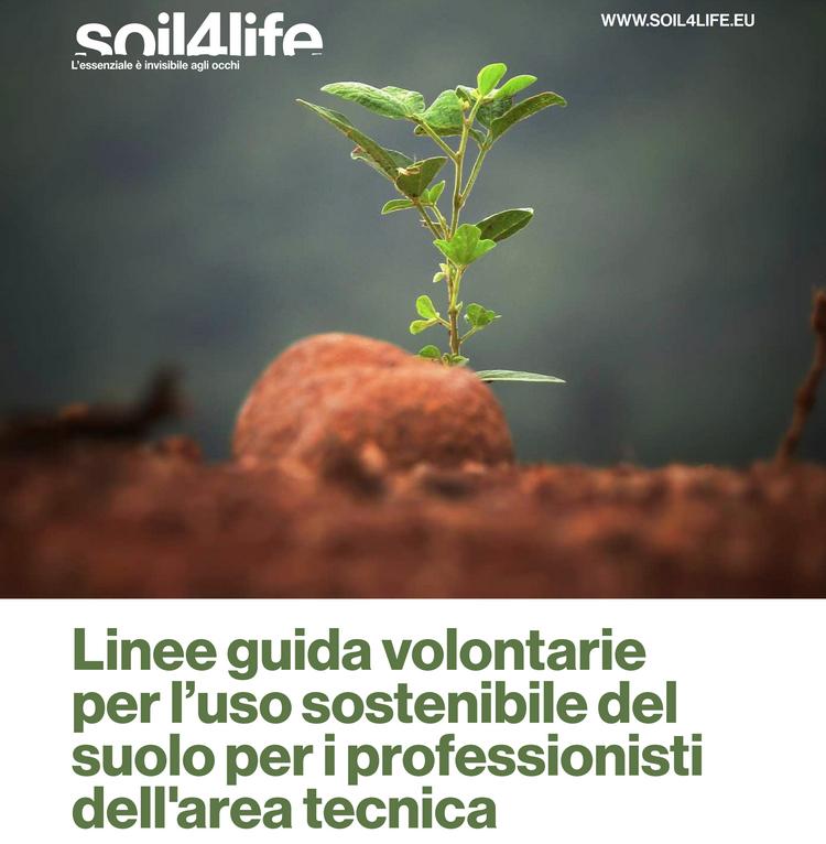 Linee guida volontarie per l'uso sostenibile del suolo per i professionisti dell'area tecnica