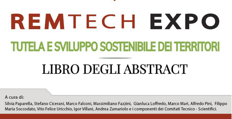 Remtech Expo 2020, on line il libro degli abstract