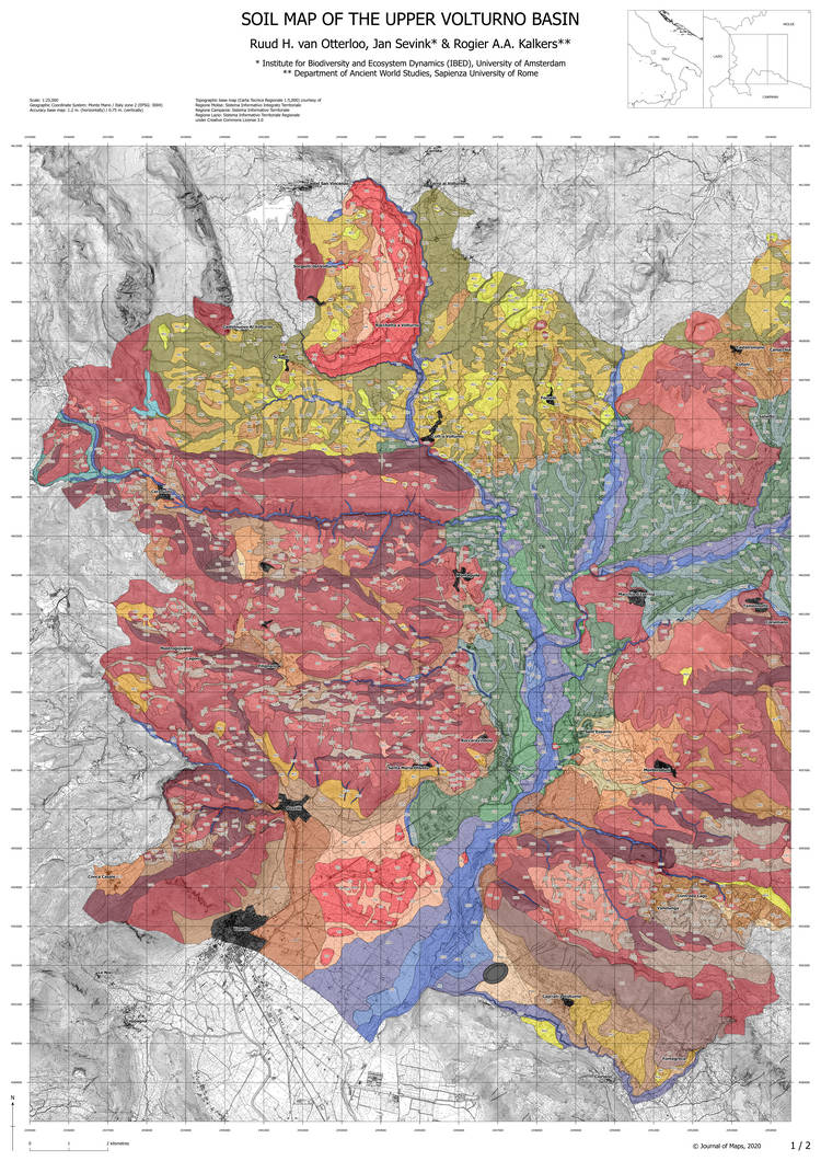 Soils and soilscapes of the Upper Volturno basin: a detailed survey of a large intermontane basin in the Central-Southern Apennines, Italy