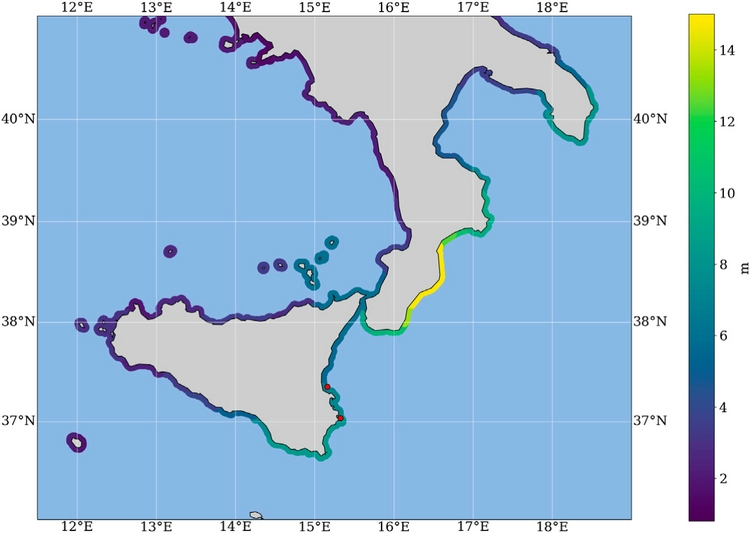 Original research article | Testing Tsunami Inundation Maps for Evacuation Planning in Italy