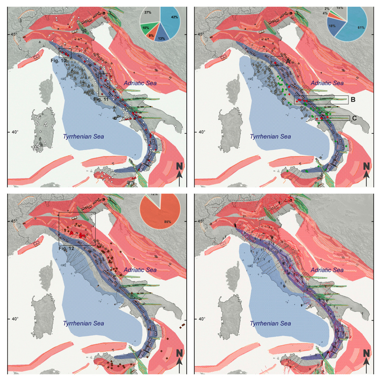 The Seismotectonic Significance of Geofluids in Italy