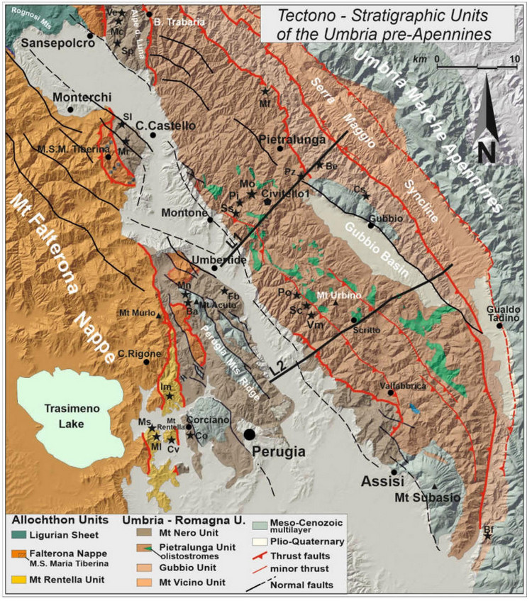 Timing of Contractional Tectonics in the Miocene Foreland Basin System of the Umbria Pre-Apennines (Italy): An Updated Overview.
