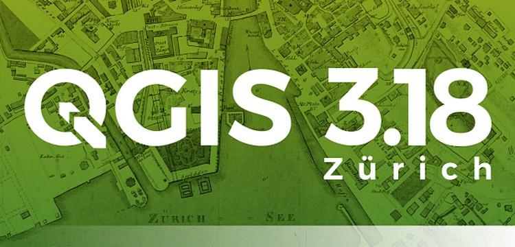 QGIS, disponibile la nuova versione 3.18.0 Zürich