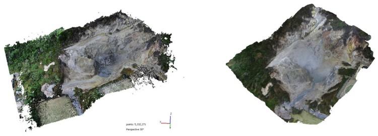 Open Access Article | Time-Lapse Landform Monitoring in the Pisciarelli (Campi Flegrei-Italy) Fumarole Field Using UAV Photogrammetry