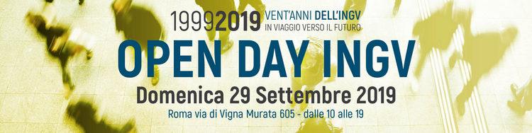 1999-2019 Vent'anni dell'INGV - Open Day - Roma, Domenica 29 Settembre 2019
