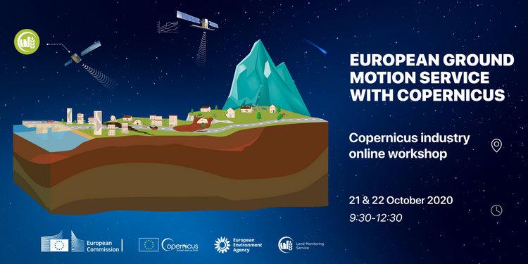 European Ground Motion Service, workshop online sul servizio Copernicus nell'ambito del Land Monitoring