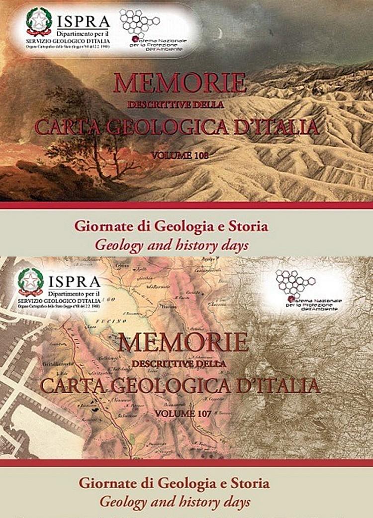 Memorie Descrittive della Carta Geologica d'Italia, online i volumi delle Giornate di Geologia e Storia