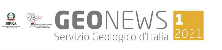 Geonews, newsletter n.1/2021 del Servizio Geologico d'Italia