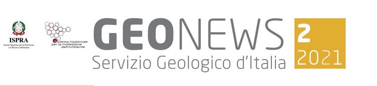 Geonews, newsletter n.2/2021 del Servizio Geologico d'Italia