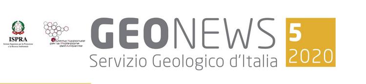 Geonews, newsletter n.5/2020 del Servizio Geologico d'Italia