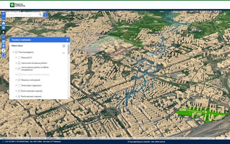 Geoportale Regione Lombardia: la cartografia geologica e la banca dati geologica del sottosuolo
