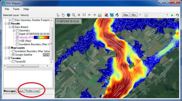 HEC-RAS 5.0.6, nuova versione del software per la modellazione idraulica