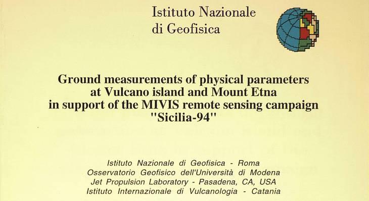 Disponibili online 600 pubblicazioni dell'Istituto Nazionale di Geofisica, dal 1938 al 1999