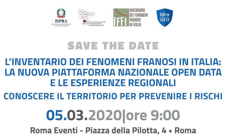 L'Inventario dei Fenomeni Franosi in Italia: la nuova piattaforma nazionale open data e le esperienze regionali
