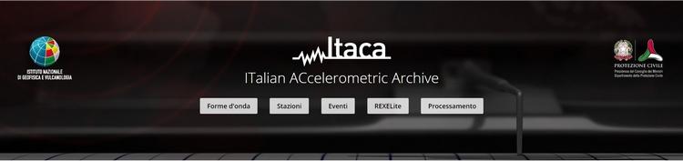 ITACA 3.0, database italiano delle registrazioni accelerometriche dei terremoti