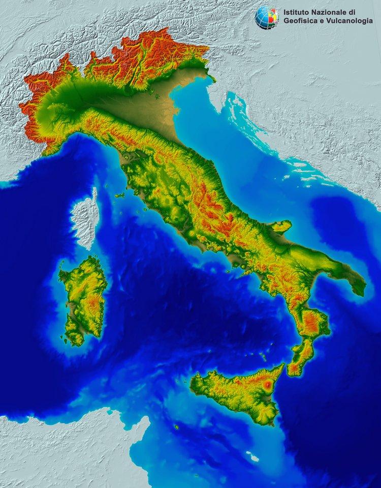 Tinitaly DEM, disponibili gratuitamente i modelli digitali del terreno del territorio italiano
