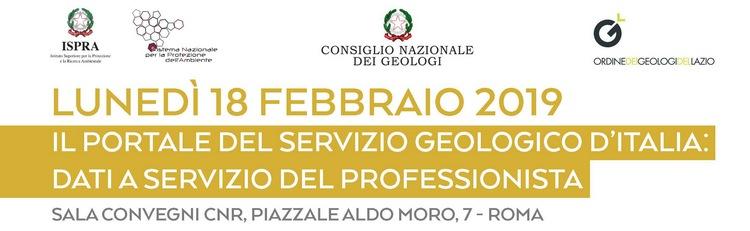 """Workshop """"Il Portale del Servizio Geologico d'Italia: dati a servizio del professionista"""""""