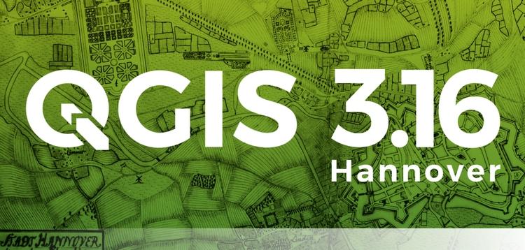 QGIS disponibile la nuova versione 3.16 Hannover