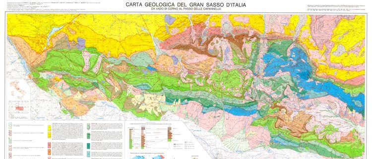 Carte geologiche della collezione cartografica del Dipartimento di Scienze della Terra - Università di Pisa