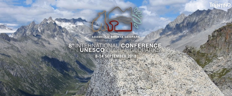 8° Conferenza Internazionale UNESCO Global Geoparks - Parco Naturale Adamello Brenta