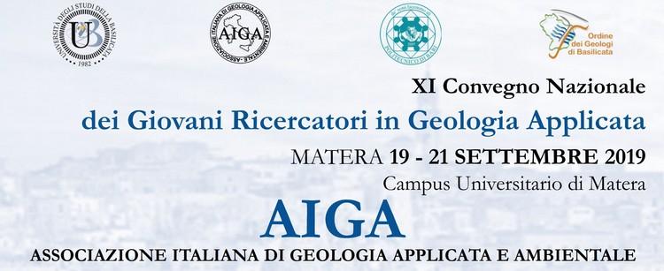 XI Convegno Nazionale dei Giovani Ricercatori in Geologia Applicata