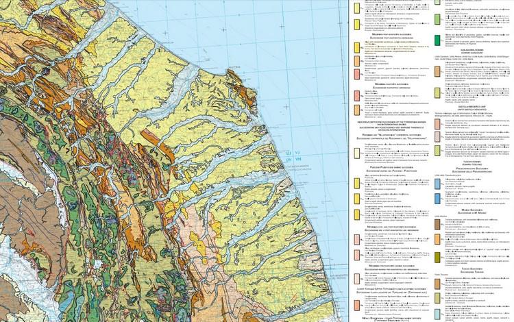 Disponibile la Carta Geologica Interregionale dell'Italia Centrale in scala 1:250.000