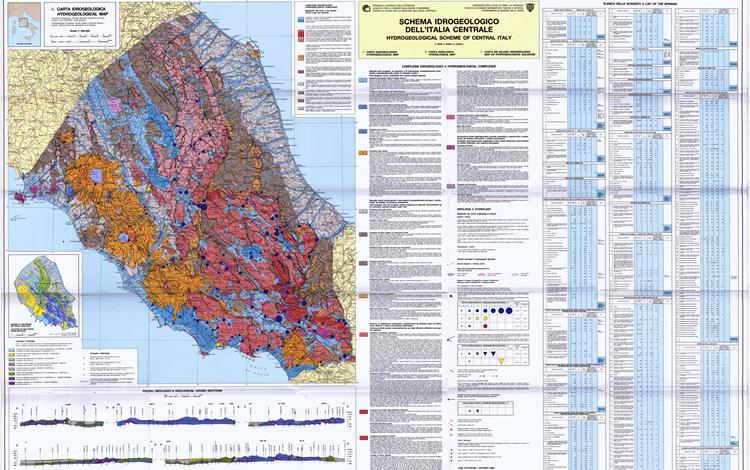 Schema Idrogeologico dell'Italia Centrale (Boni 1986), pubblicazione disponibile online
