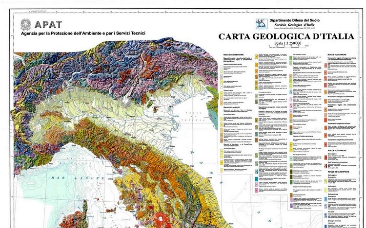 Carta Geologica d'Italia, mozione approvata in Senato