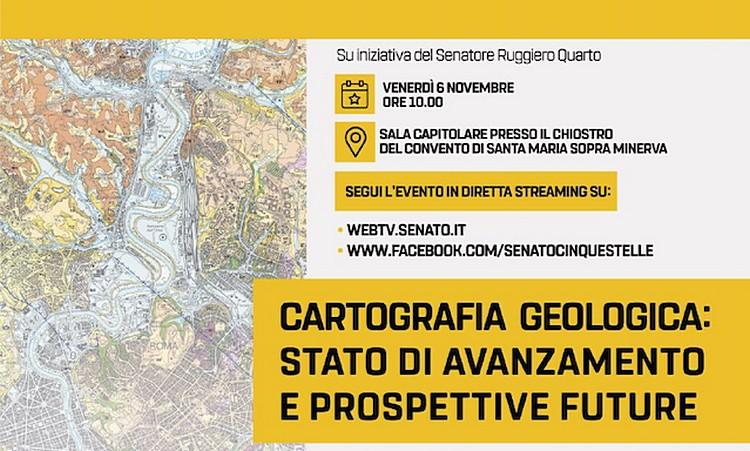 Cartografia Geologica: stato di avazamento e prospettive future