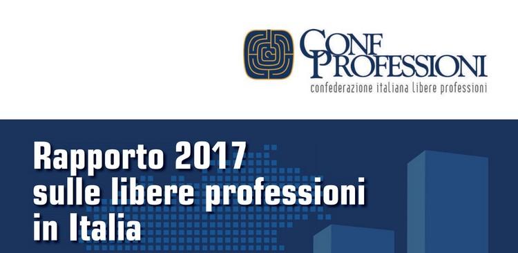 Confprofessioni, presentato il Rapporto 2017 sulle libere professioni in Italia
