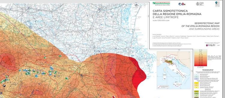 Carta sismotettonica della Regione Emilia-Romagna e aree limitrofe ( 2016)