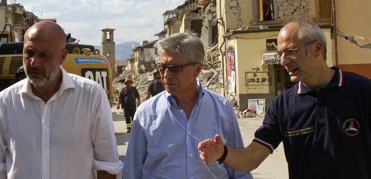 Sisma centro Italia, nuove ordinanze del commissario Errani