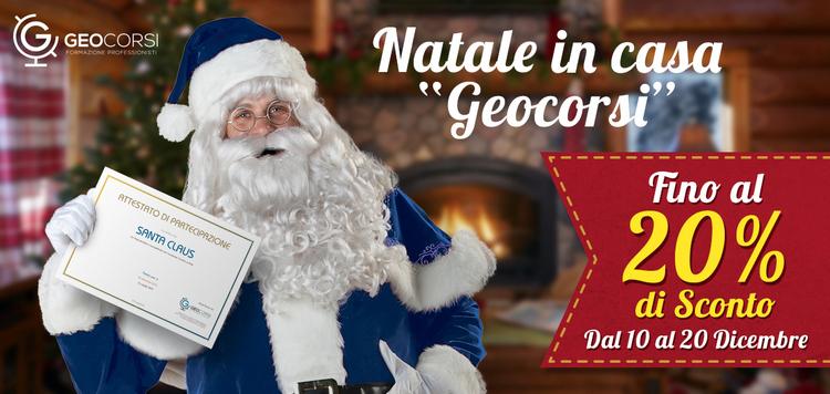 Geocorsi festeggia il Natale con te!