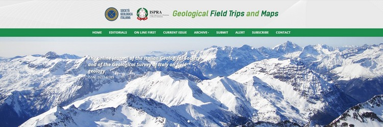 Geological Field Trips and Maps, itinerari geologici ed escursioni